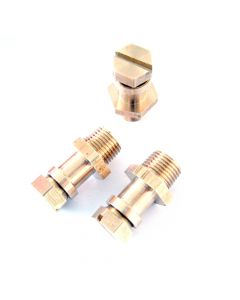 Monument 1/8in. BSP Tapered Pressure Test Nipples - MON1732D