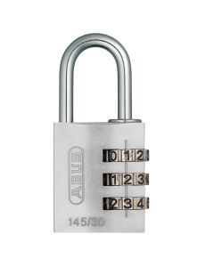 ABUS MyCode Light 145/30 Silver
