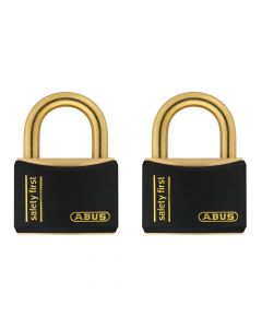 ABUS Nautic T84MB/40 Black Twin Pack