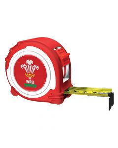 Advent Official Welsh Rugby Tape Red / White 5m/16ft  (Width 25mm) - ADV45025WRFU
