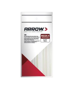 "Arrow MG24 4"" Glue Sticks (24 Pack) - MG24"