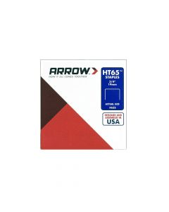 "Arrow HT65 Staples 19mm 3/4"" (600 Box) - 65S"