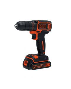 Black & Decker Drill Driver 18V 2 x 1.5Ah Li-ion Kit Box - B/DBDCDC18KB