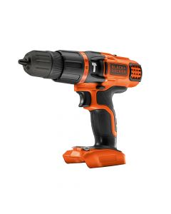 Black & Decker Hammer Drill 18V Bare Unit - B/DBDCH188N