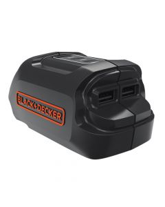 Black & Decker USB Charger 18V Bare Unit - B/DBDCU15AN
