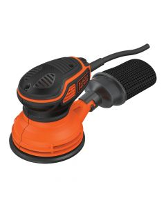 Black & Decker Paddle Switch Random Orbital Sander 125mm 240W 240V - B/DKA199