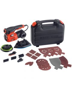 Black & Decker 4-in-1 Multi Sander 220W 240V - B/DKA280K