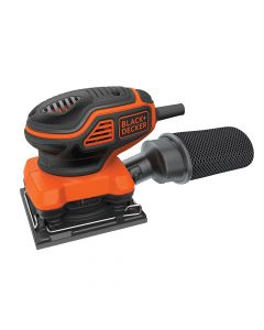 Black & Decker 1/4 Sheet Paddle Switch Orbital Sander 220W 240V - B/DKA450