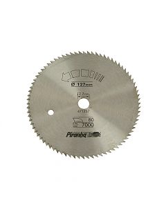 Black & Decker Circular Saw Blade 127 x 12.7mm x 80T Cross Cut - B/DX10000