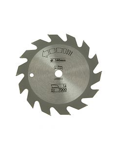 Black & Decker Circular Saw Blade 140 x 12.7mm x 14T Fast Rip - B/DX13000