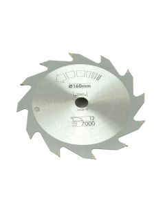 Black & Decker Circular Saw Blade 160 x 16mm x 12T Fast Rip - B/DX13100