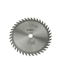 Black & Decker Circular Saw Blade 160 x 16mm x 40T Fine Cross Cut - B/DX13105