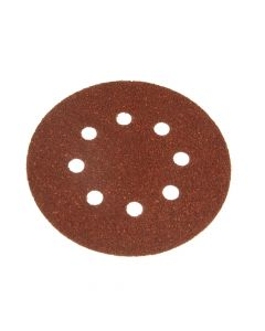 Black & Decker Perforated Sanding Discs 125mm Coarse (Pack of 5) - B/DX32027