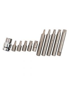BlueSpot Tools Spline Bit Set, 11 Piece - B/S1515