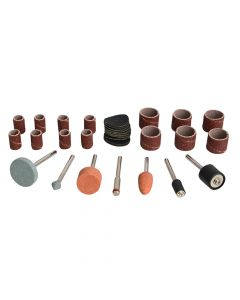 BlueSpot Tools Sanding & Grinding Accessory 31 Piece Kit - B/S19019