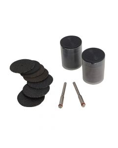 BlueSpot Tools Cut Off Wheel Accessory Kit 85 Piece - B/S19021