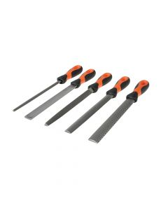 Bahco File Set 5 Piece 1-477-08-2-2 200mm (8in) - BAH47708