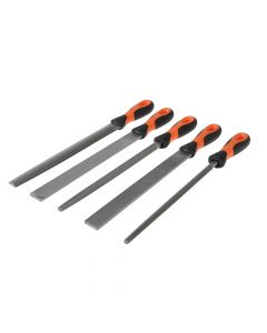 Bahco File Set 5 Piece 1-478-10-1-2 250mm (10in) - BAH47810