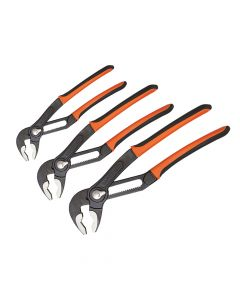 Bahco 72 Series Quick Adjust Slip Joint Plier Set 3 Piece - BAH7225PACK