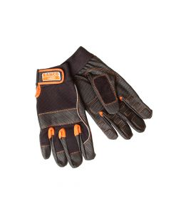 Bahco Power Tool Padded Palm Gloves - Large (Size 10) - BAHGL01010