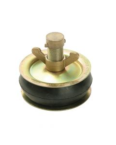 Bailey Drain Test Plug 100mm (4in) - Brass Cap - BAI2416