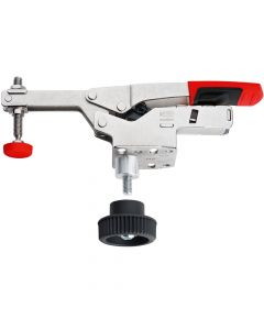 Bessey Horizontal Toggle Clamp With Open Arm and Horizontal Base Plate + Accessory Set - BESSTCVH50T20