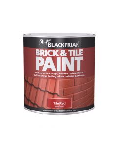 Blackfriar Brick & Tile Paint Matt Red 500ml - BKFBTMR500