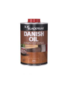 Blackfriar Danish Oil, Clear 1 Litre - BKFDOC1L