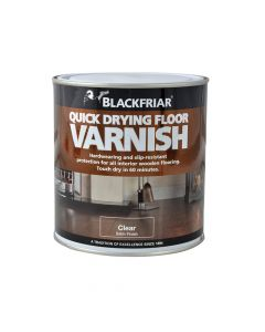 Blackfriar Duratough Floor Varnish Satin 1 Litre - BKFDTFVS1L