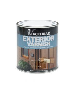 Blackfriar Exterior Varnish UV66 Clear Gloss 250ml - BKFEVG250
