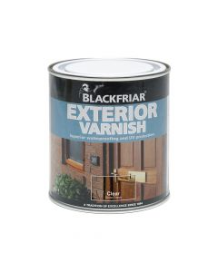 Blackfriar Exterior Varnish UV66 Clear Gloss 500ml - BKFEVG500