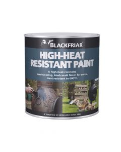 Blackfriar Heat Resistant Paint Black 500ml - BKFHRB500