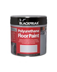 Blackfriar Professional Polyurethane Floor Paint Tile Red 1 Litre - BKFPFPTR1L