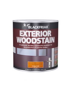 Blackfriar Traditional Exterior Woodstain Ebony 1 Litre - BKFTEWSE1L