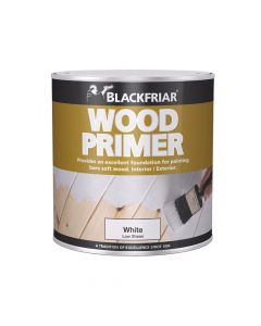 Blackfriar Wood Primer White 250ml - BKFWPW250