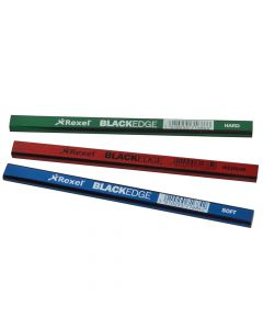 Blackedge Carpenter's Pencils - Assorted Card of 12 - BLAA