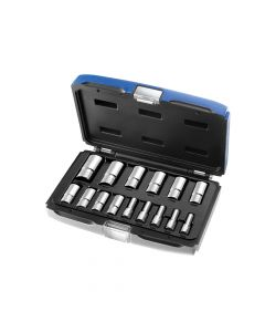 Expert Deep Socket Set of 15 Metric 3/8in Drive - BRIE031804B