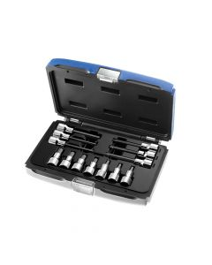 Expert Hex Bit Socket Set of 13 1/2in Drive - BRIE032906B