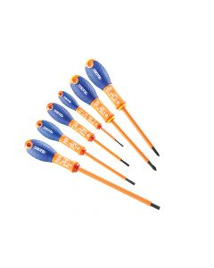 Expert Screwdriver Set 6 Piece Insulated SL/PH - BRIE160910B