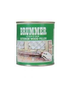 Brummer Green Label Stopping Exterior Wood Filler 700g Light Oak - BRUGMLO