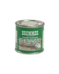 Brummer Green Label Stopping Exterior Wood Filler 225g Dark Mahogany - BRUGSDM