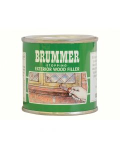 Brummer Green Label Stopping Exterior Wood Filler 225g Beech - BRUGSBE