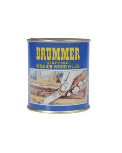 Brummer Yellow Label Stopping Interior Wood Filler 700g Dark Mahogany - BRUYMDM