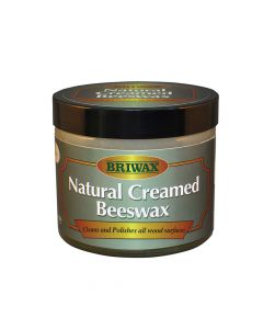 Briwax Natural Creamed Beeswax Clear 250ml - BRWNCBW250CL