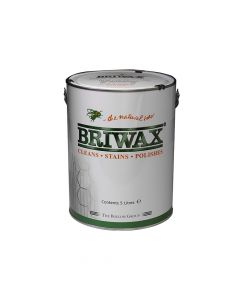 Briwax Wax Polish Original Antique Brown 5 Litre - BRWWPAB5