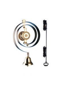 Byron Mechanical Butlers Doorbell with Iron Pull Kit - BYR62500K