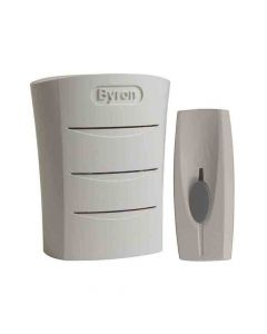 Byron Wireless Doorbell with Portable Chime 60m BY101 - BYRBY101