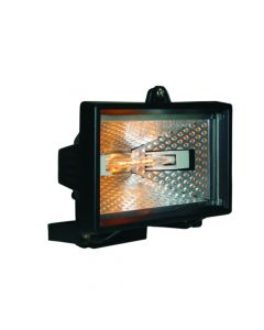 Byron Halogen Floodlight Black 120 Watt - BYRHL120