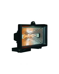 Byron Halogen Floodlight Black 400 Watt - BYRHL400