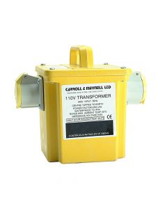 Carroll & Meynell Transformer Twin Outlet Rating 1.50Kva Continuous 750va - C/M15002